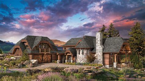 luxury log cabin home floor plans  luxury log home