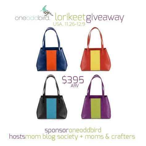 The View Purse Sweepstakes - oneoddbird lorikeet handbag giveaway 12 9 swanky point of view