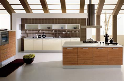 Modern Open Kitchen Design Kitchen With An Open Ceiling Concept