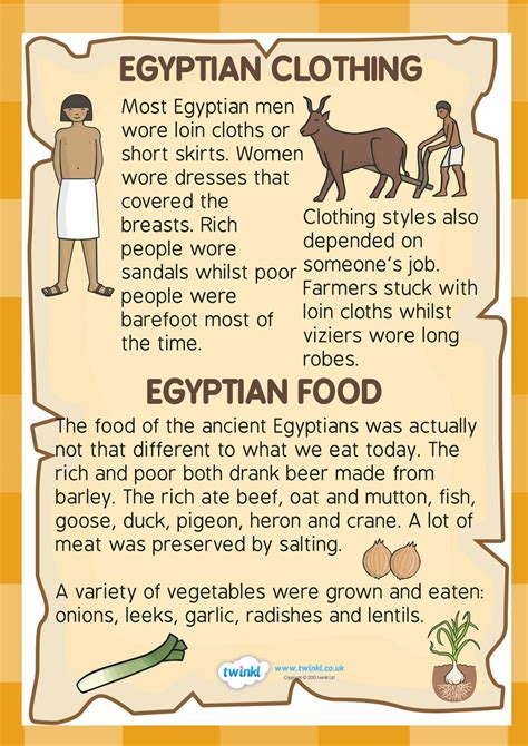 biography phrases ks2 ks2 ancient egypt food and clothing factfile history