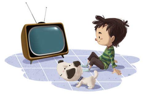 imagenes de niños viendo television para colorear buscar fotos quot dibujo animado quot