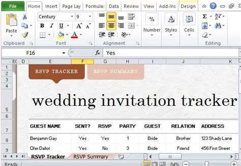 wedding invitation excel template top 3 resources to get wedding invitation list templates