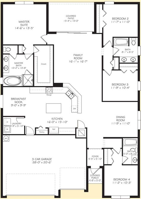 Lennar Homes Floor Plans Florida | lennar homes builder in the gated golf community of