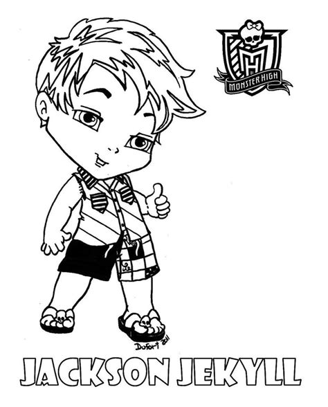 All About Monster High Dolls Baby Monster High Character Baby High Colouring Pages