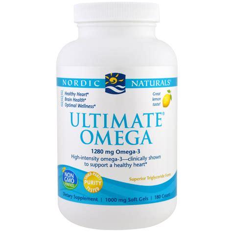 Nordic Ultimate Omega nordic naturals ultimate omega lemon flavor 1 280 mg