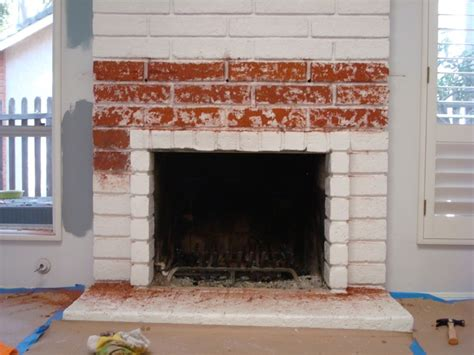 project 1 restoring the brick fireplace using soygel