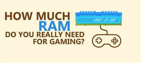 how much ram is how much ram is needed for gaming ebuyer
