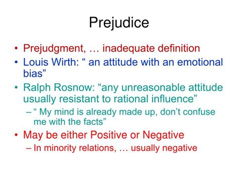Prejudice Definition Essay by Prejudice Definition Www Pixshark Images Galleries With A Bite