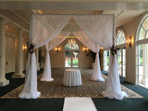 Wedding Ceremony Draping by Metro Detroit Tent Rental Table Chair Rentals Bounce