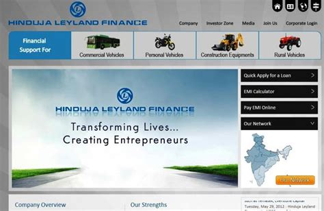 Hinduja Leyland Finance Letterhead Truck Financiers Now Bet On Property Loans Livemint