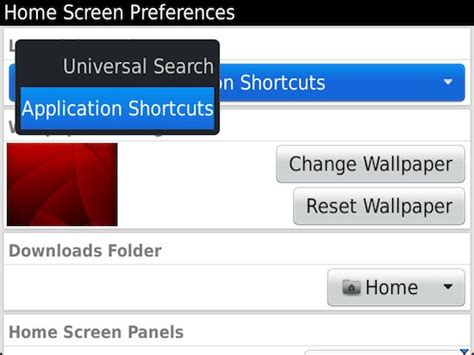 tip how to enable home screen shortcuts in