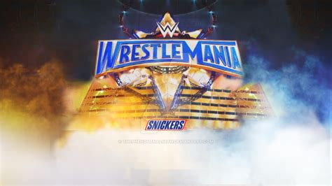 Wm 33 Card Template by Wrestlemania 33 Background By Thephenomenalseth On Deviantart