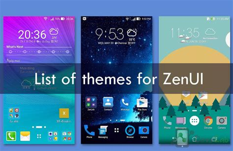 vijay themes samsung list of all asus zenfone zenui official third party themes