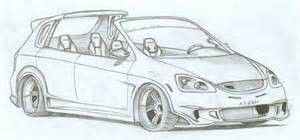 honda civic targa by fuseest on deviantart
