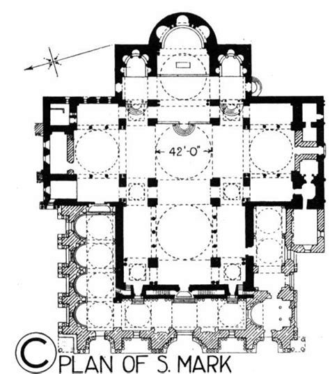 basilica floor plan hist archisectionb st mark s basilica