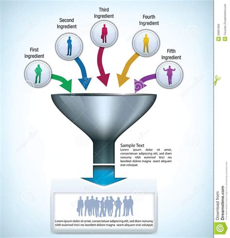 free powerpoint funnel template 8 best images of free funnel diagram template sales
