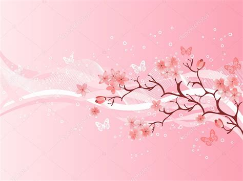 japanese cherry blossom illustration pictures to pin on