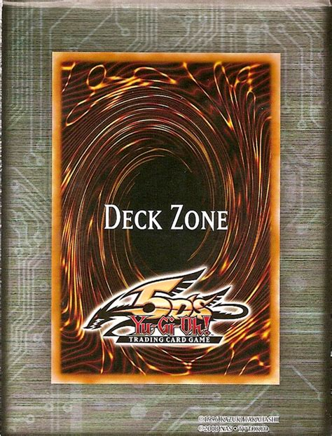 Yugioh Card Zone Template by Deck Zone Yu Gi Oh