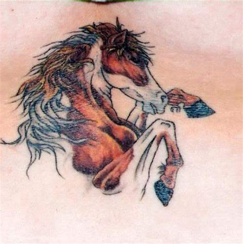 pinterest tattoo horse native american paint horse tattoo change the color and