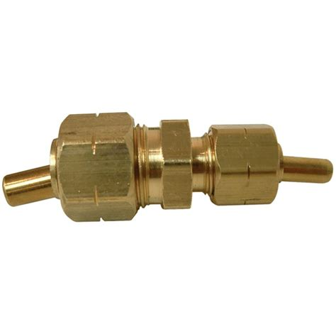 Plumbing Union Bc by Brass Flare To Pipe Half Union 3 8 X 1 2 A184 In