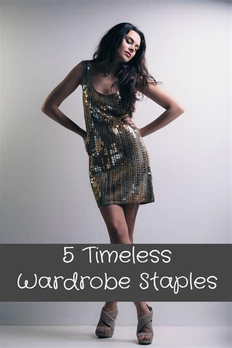 Wardrobe Staple by 5 Timeless Wardrobe Staples Gloss