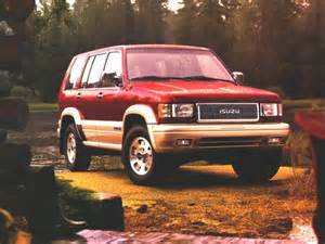 1996 Isuzu Trooper Review 1996 Isuzu Trooper Overview Cars