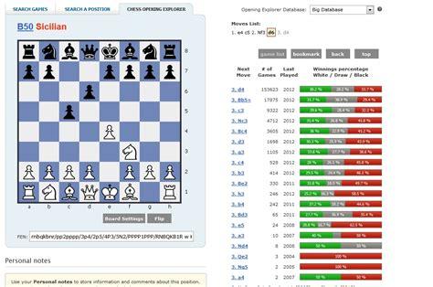best chess database chess databases