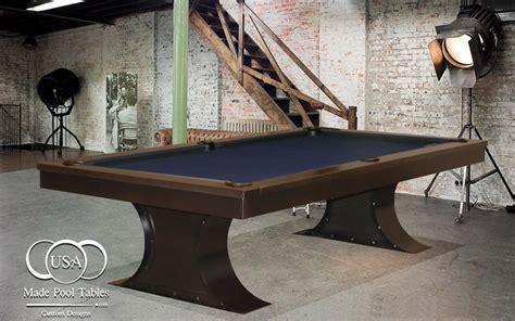 industrial pool table steel pool table metal