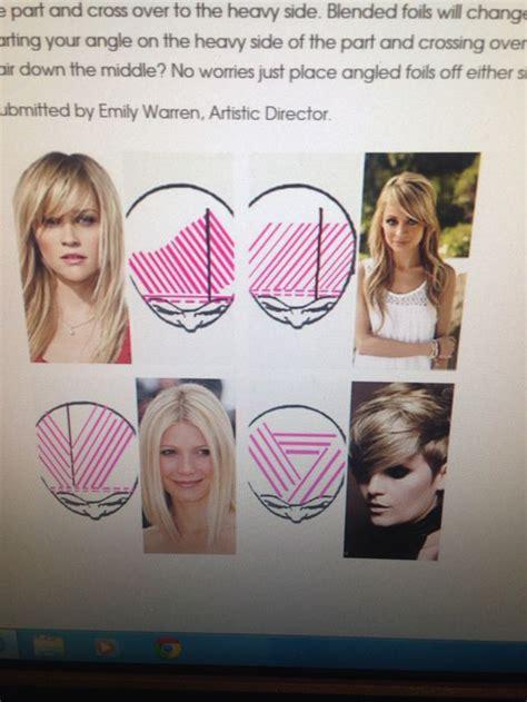 highlight placement ideas 1000 ideas about hair foils on pinterest blonde foils