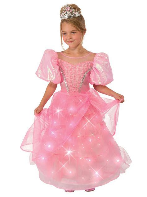 light pink costume pink princess light up costume