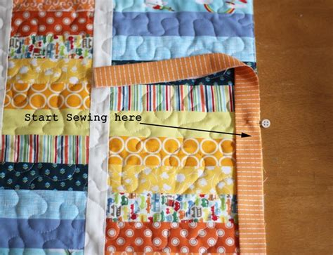 Quilt Binding Stitch by Cluck Cluck Sew Machine Binding Tutorial