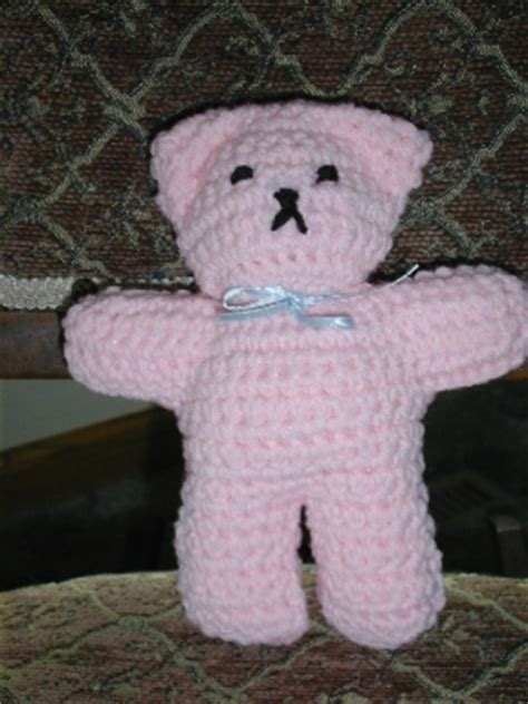 pattern for simple knitted teddy bear free crochet thread teddy bear patterns crochet and