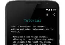 monospace for android is a minimalist notes writing app review train driver 15