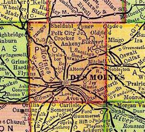 Polk County Iowa Records Polk Co Maps