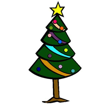 dibujo de 193 rbol de navidad ii pintado por pino en dibujos
