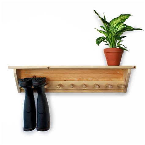 wall hanging welly rack 4 pair
