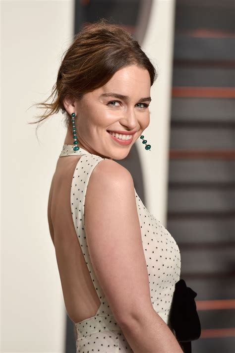 emilia clarke emilia clarke vanity fair oscar 2016 party in beverly