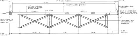 bridge steel sections computer aided design and detailing of short span steel