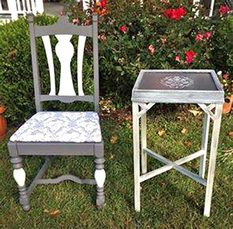 antique white side table driftwood and antique white side table and chair general