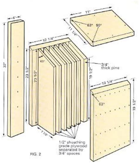 simple bat house plans bat house plans illinois house design plans