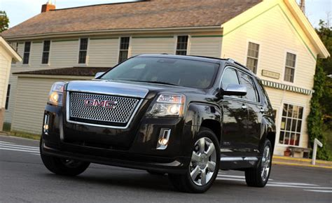 2013 gmc terrain v6 gas mileage