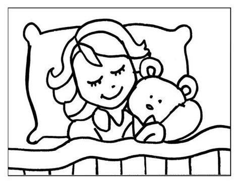 imagenes de wake up para colorear dibujo para colorear ni 241 a durmiendo