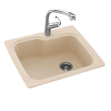 Solid Surface Undermount Sinks by Swan Drop In Undermount Solid Surface 25 In 1 Single