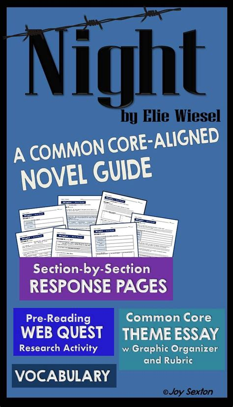 common themes in holocaust literature 10 best night by elie wiesel images on pinterest high