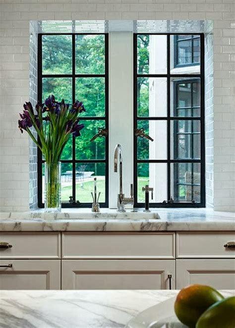 kitchen design with windows the zhush seven inspiring white kitchens