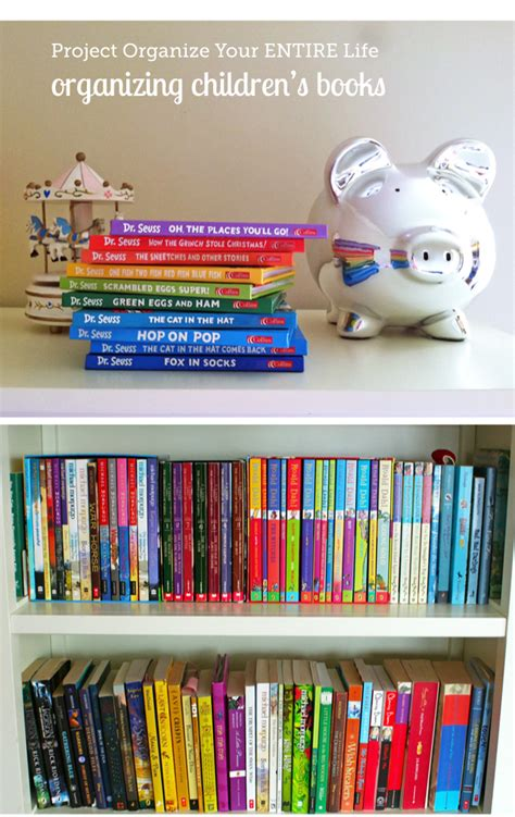 organization books organizing children s books