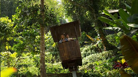 hanging flower garden news awards ubud luxury hotel resort hanging
