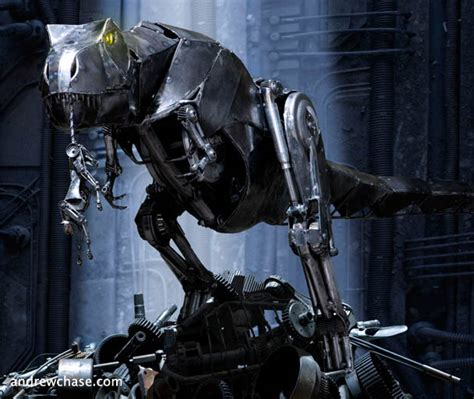 film robot dinosaurus robot t rex andrew chase daily art fixx