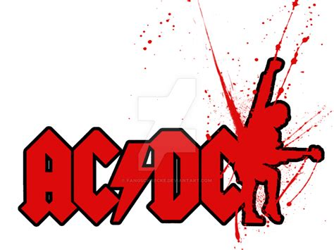 ac dc angus young logo design by fangschrecke on deviantart