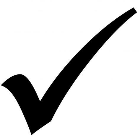compruebe icono de signo stock de foto gratis public